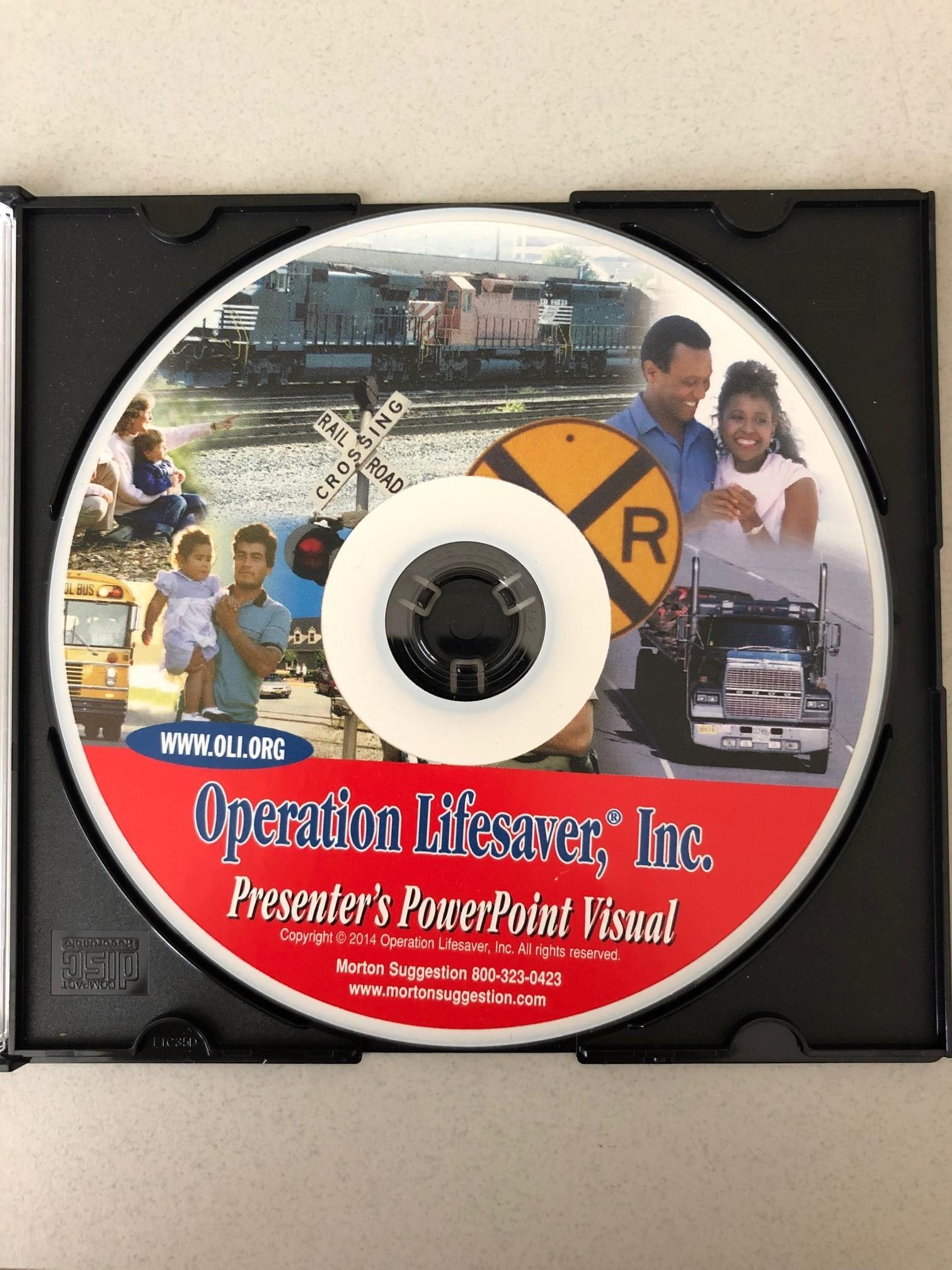 Visual Presentation CD Rom