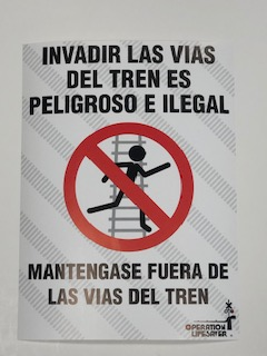 Poster - No Trespassing Spanish