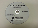 DVD - Are You In Control?
