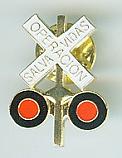 Metal Lapel Pin - Spanish