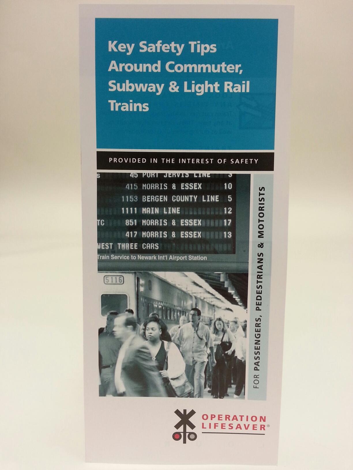 Key Safety Tips - Light Rail