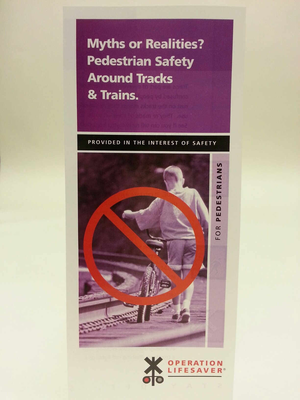 Myths or Realities for Pedestrians