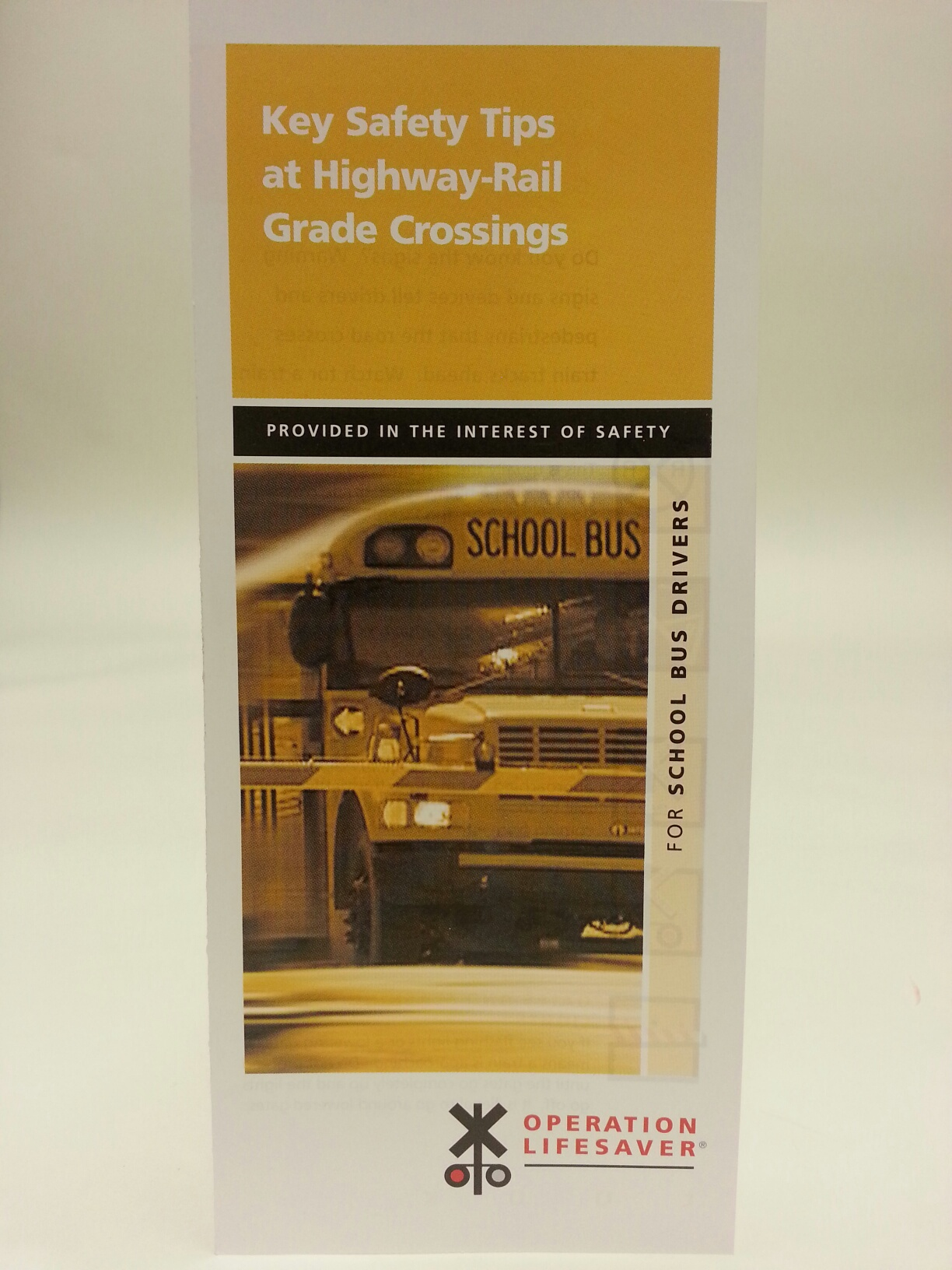 Key Safety Tips - School Bus Drivers