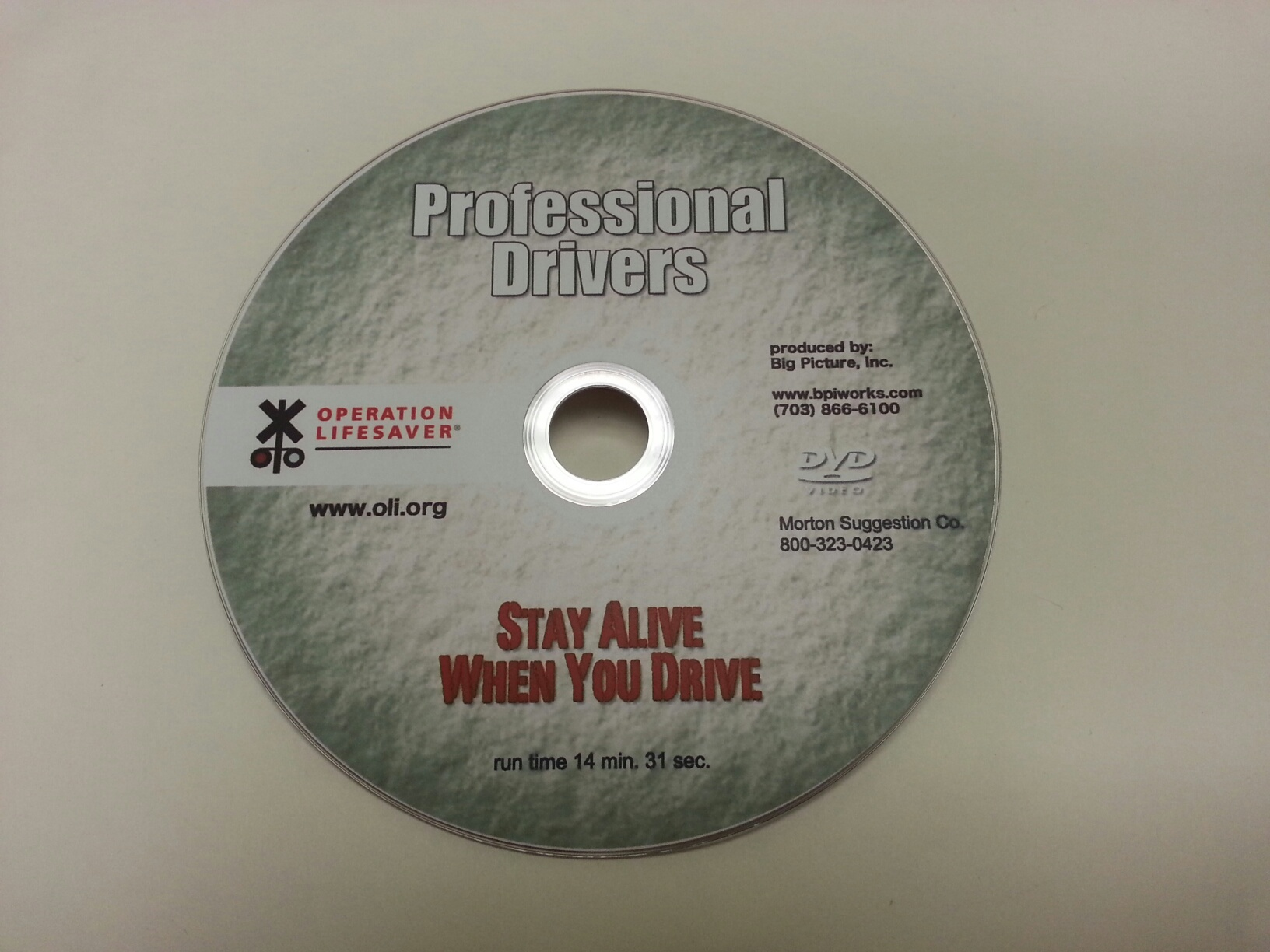 DVD - Stay Alive When You Drive