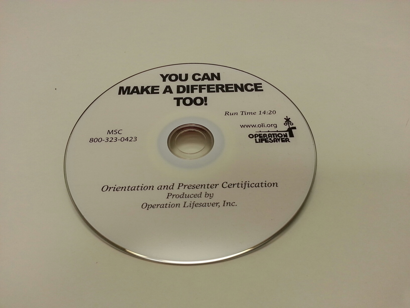 DVD - You Can Make a Difference Too!
