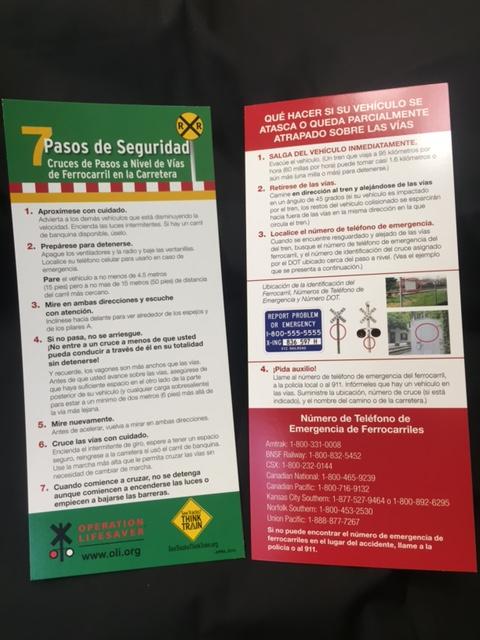Visor Card Spanish