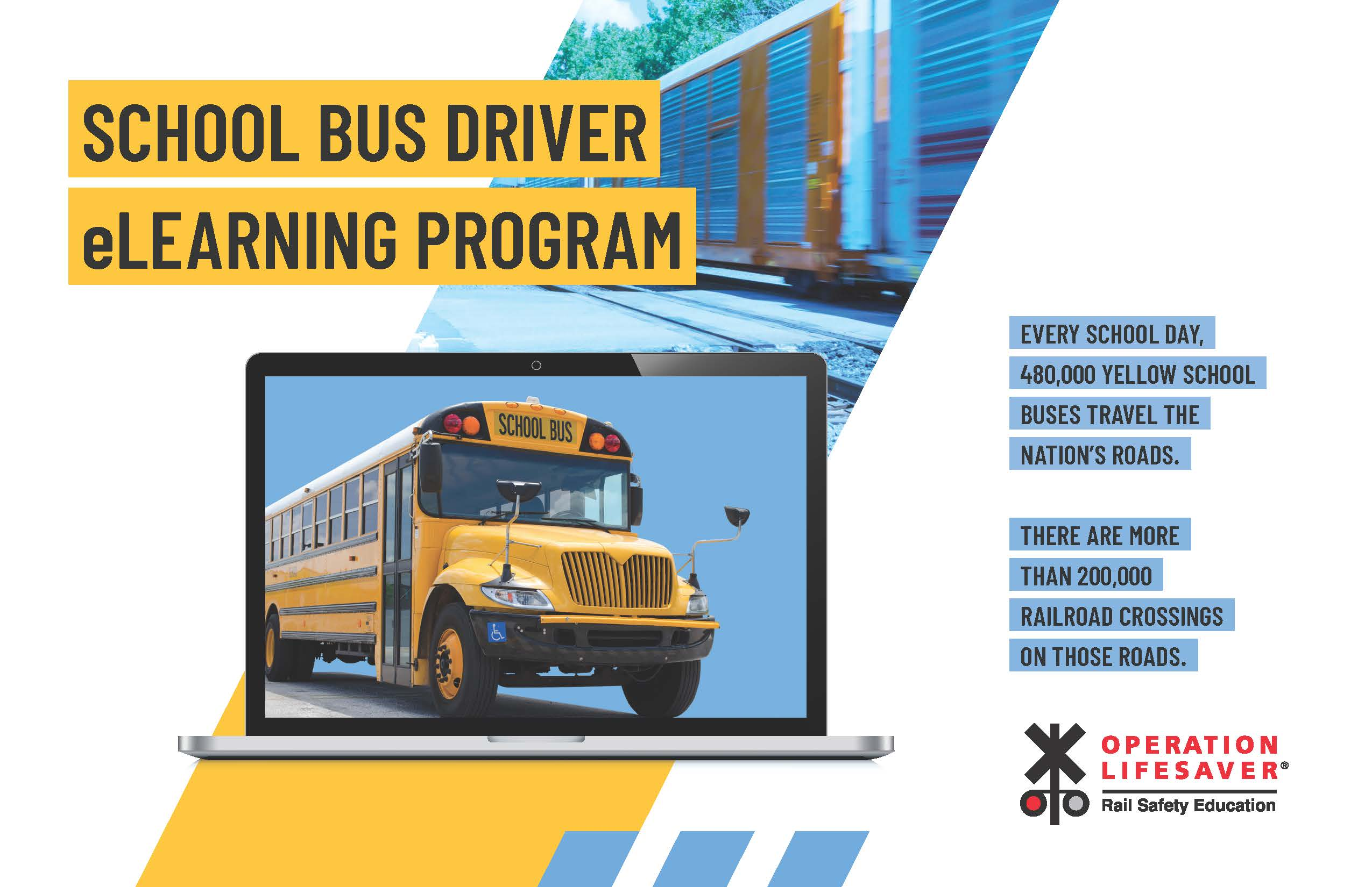School Bus Drivers Take a Test Drive: eLearning Postcard