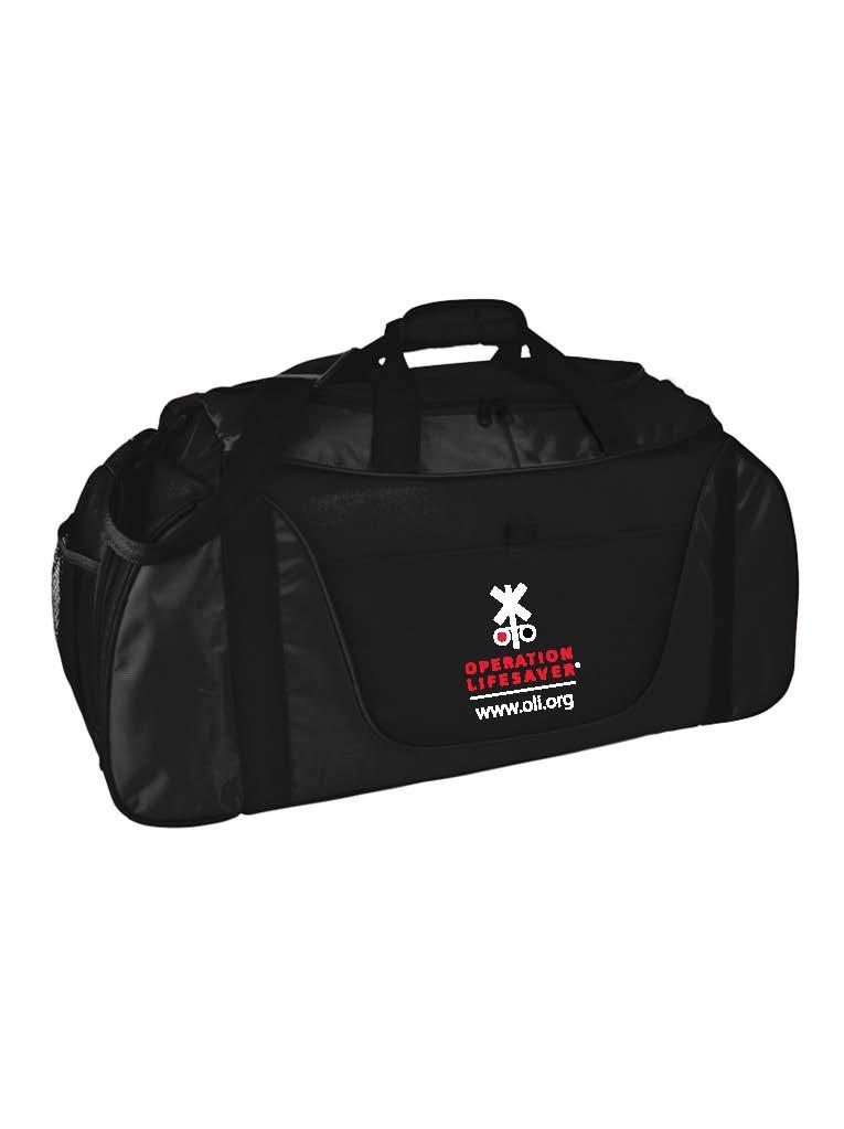 CUSTOM Duffle Bag Black