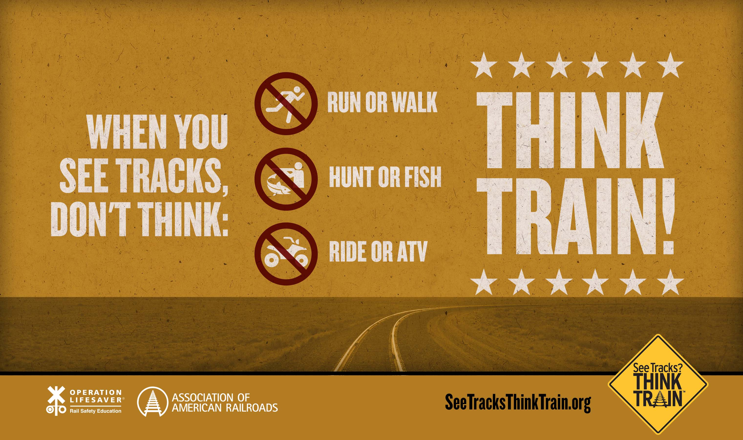 Poster - Think Train