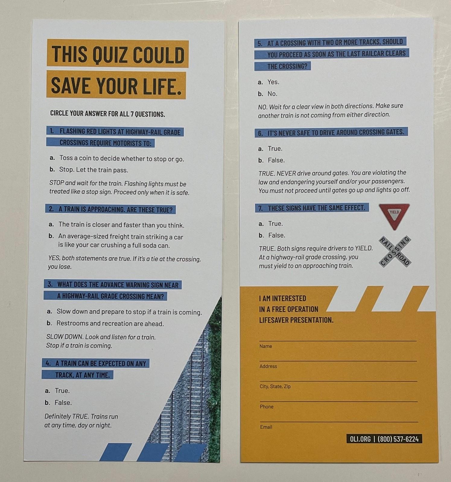 Quiz Cards Updated