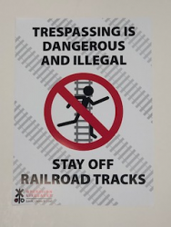 Poster - No Trespassing