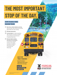 School Bus: The Most Important Stop of the Day Poster