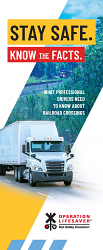 Professional Drivers: Stay Safe. Know the Facts.