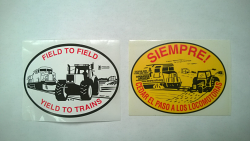 Decal - Farm Equipment