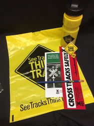 See Tracks Think Train Adult Gift Bag