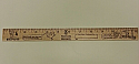 "Ruler 12"", Wooden Color-Me"